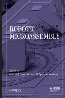 Cover image for Robotic micro-assembly