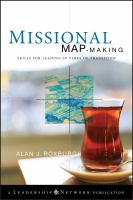 Cover image for Missional map-making : skills for leading in times of transition