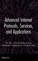 Cover image for Advanced Internet protocols, services, and applications