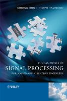 Cover image for Fundamentals of signal processing for sound and vibration engineers