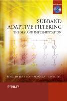 Cover image for Subband adaptive filtering theory and implementation
