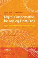 Cover image for Digital compensation for analog front-ends : a new approach to wireless transceiver design