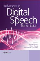 Cover image for Advances in digital speech transmission