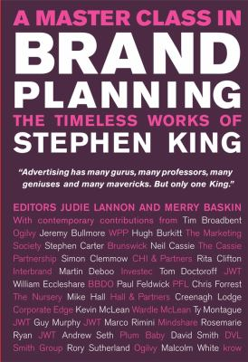 Cover image for A master class in drand planning : the timeless works of Stephen King