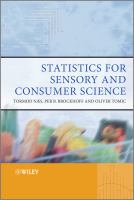 Cover image for Statistics for sensory and consumer science