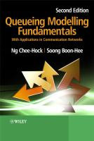 Cover image for Queueing modelling fundamentals : with applications in communication networks