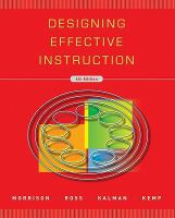 Cover image for Designing effective instruction