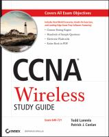 Cover image for CCNA wireless study guide