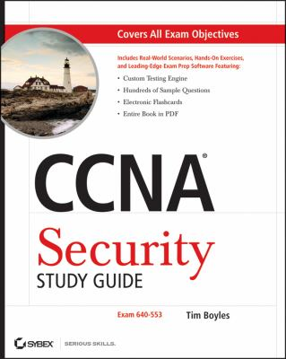 Cover image for CCNA security study guide
