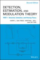 Cover image for Detection estimation and modulation theory