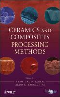Cover image for Ceramics and composites processing methods