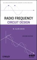 Cover image for Radio frequency circuit design
