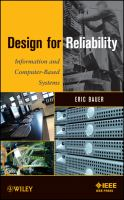 Cover image for Design for reliability : information and computer-based systems