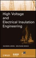 Cover image for High voltage and electrical insulation engineering