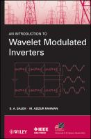 Cover image for An introduction to wavelet modulated inverters
