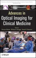 Cover image for Advances in optical imaging for clinical medicine