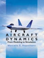Cover image for Aircraft dynamics : from modeling to simulation