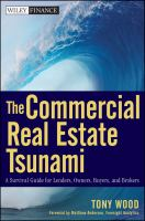 Cover image for The commercial real estate tsunami : a survival guide for lenders, owners, buyers, and brokers