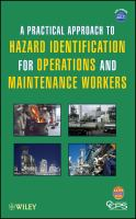 Cover image for A practical approach to hazard identification for operations and maintenance workers