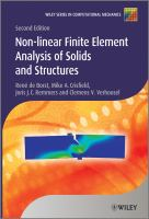 Cover image for Non-linear finite element analysis of solids and structures