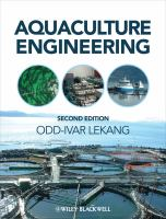 Cover image for Aquaculture engineering