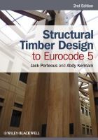 Cover image for Structural timber design to Eurocode 5