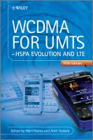 Cover image for WCDMA for UMTS : HSPA evolution and LTE