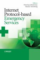 Cover image for Internet protocol-based emergency services