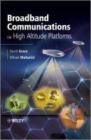 Cover image for Broadband communications via high-altitude platforms