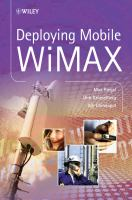 Cover image for Deploying mobile WiMAX