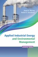 Cover image for Applied industrial energy and environmental management