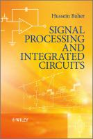 Cover image for Signal processing and integrated circuits