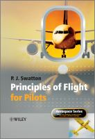 Cover image for The principles of flight for pilots