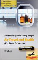 Cover image for Air travel and health : a systems perspective