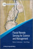 Cover image for Fluvial remote sensing for science and management