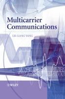 Cover image for Multicarrier communications