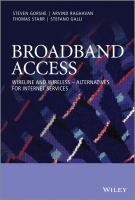 Cover image for Broadband access : wireline and wireless--alternatives for Internet services