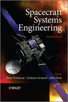 Cover image for Spacecraft systems engineering