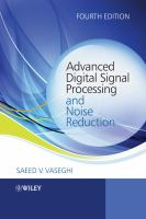 Cover image for Advanced digital signal processing and noise reduction