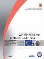 Cover image for Encyclopedia of aerospace engineering