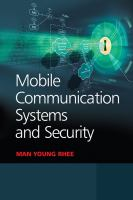 Cover image for Mobile communication systems and security