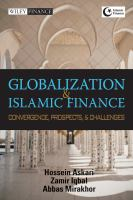 Cover image for Globalization and Islamic finance : convergence, prospects and challenges