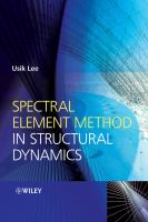 Cover image for Spectral element method in structural dynamics