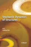 Cover image for Stochastic dynamics of structures