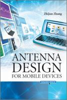 Cover image for Antenna design for mobile devices