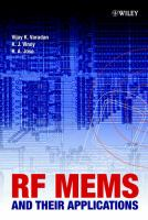 Cover image for RF MEMS and their applications