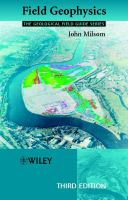 Cover image for Field geophysics
