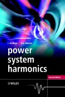 Cover image for Power system harmonics