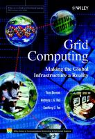 Cover image for Grid computing : making the global infrastructure a reality