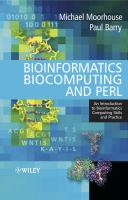 Cover image for Bioinformatics, biocomputing and Perl : an introduction to bioinformatics computing skills and practice
